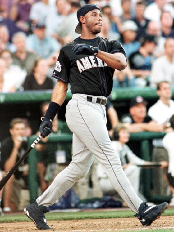Ken Griffey Jr. in the Air Griffey Max III