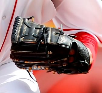 Johnny Cueto's Nike Diamond Elite Pro II w/ Two Piece Web