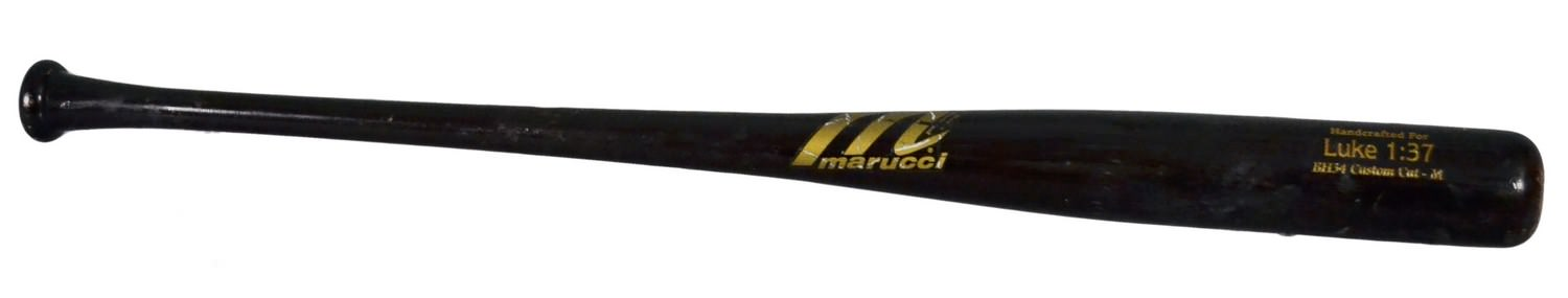 Bryce Harper's Marucci Custom BH34, Los15, MR24 Maple