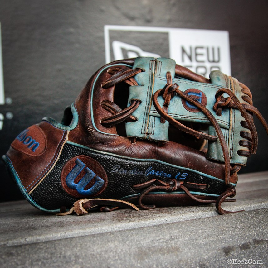Starlin Castro's Wilson A2000 1786 Superskin
