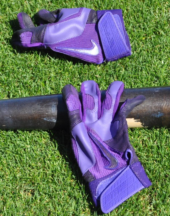 Troy Tulowitzki's Nike Diamond Elite Pro Batting Gloves