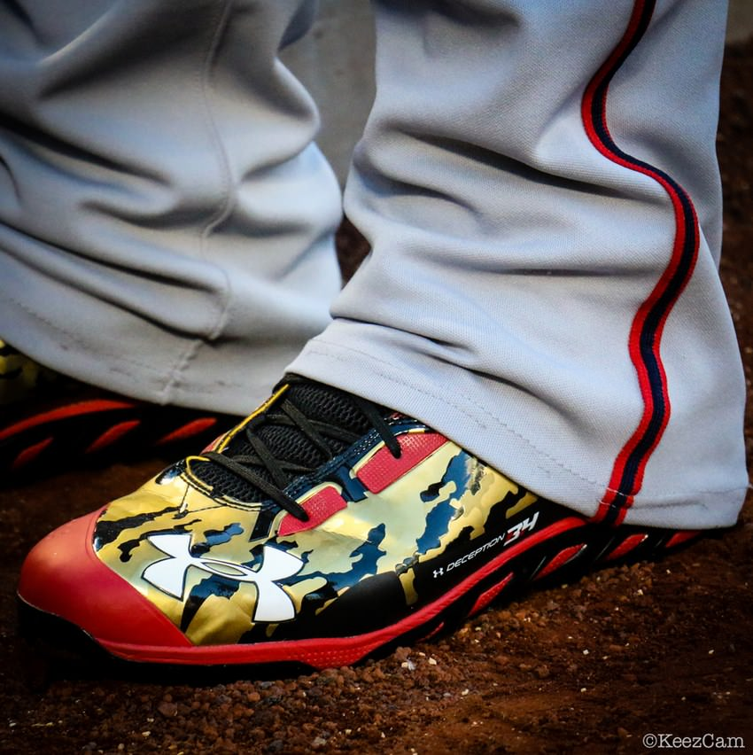 Bryce Harper: UA Spine Highlight Cleat » Under Armour ...