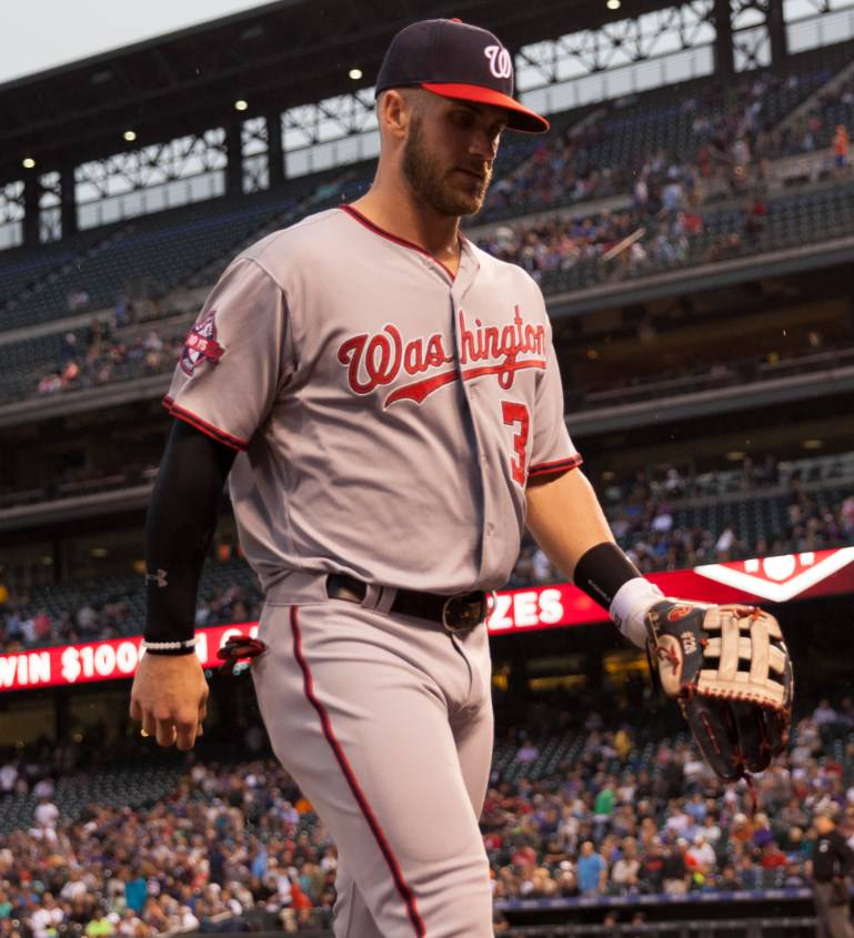 What Pros Wear Bryce Harper's Rawlings Heart of the Hide ... Bryce Harper Outfield