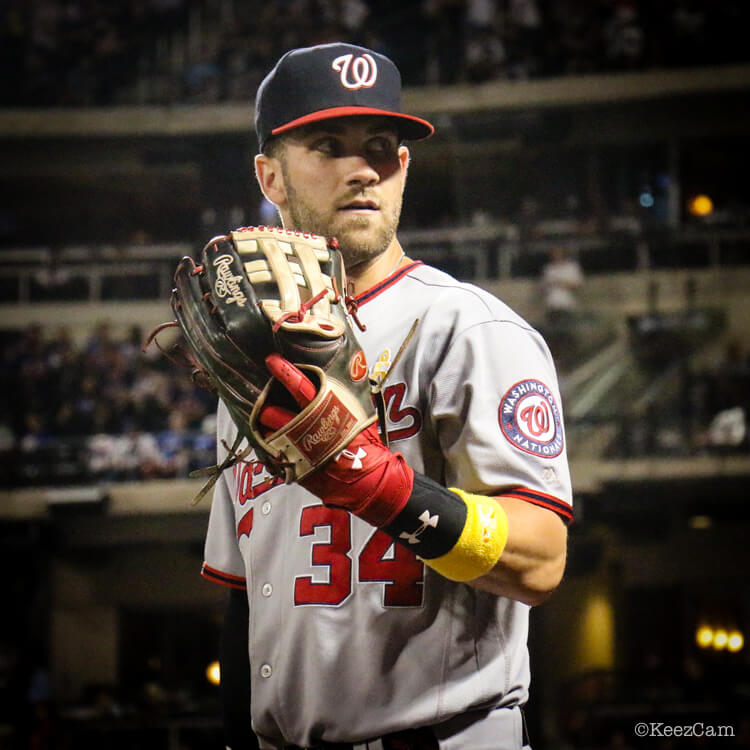 What Pros Wear Bryce Harper's Glove - Rawlings PROHARP34 H ... Bryce Harper Outfield