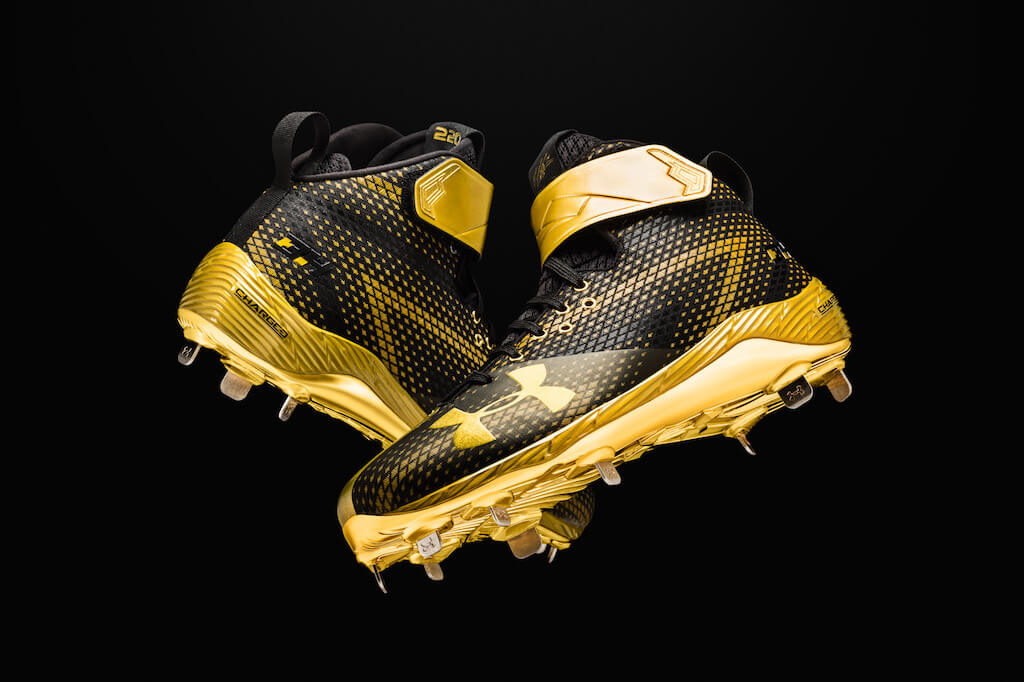 What Pros Wear The Harper One: Bryce Harper's 1st UA ...
