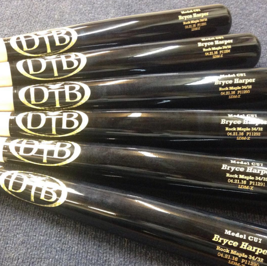 Galerry What Pros Wear Bryce Harper's Bats Harper's FOUR Favorite Cuts on His