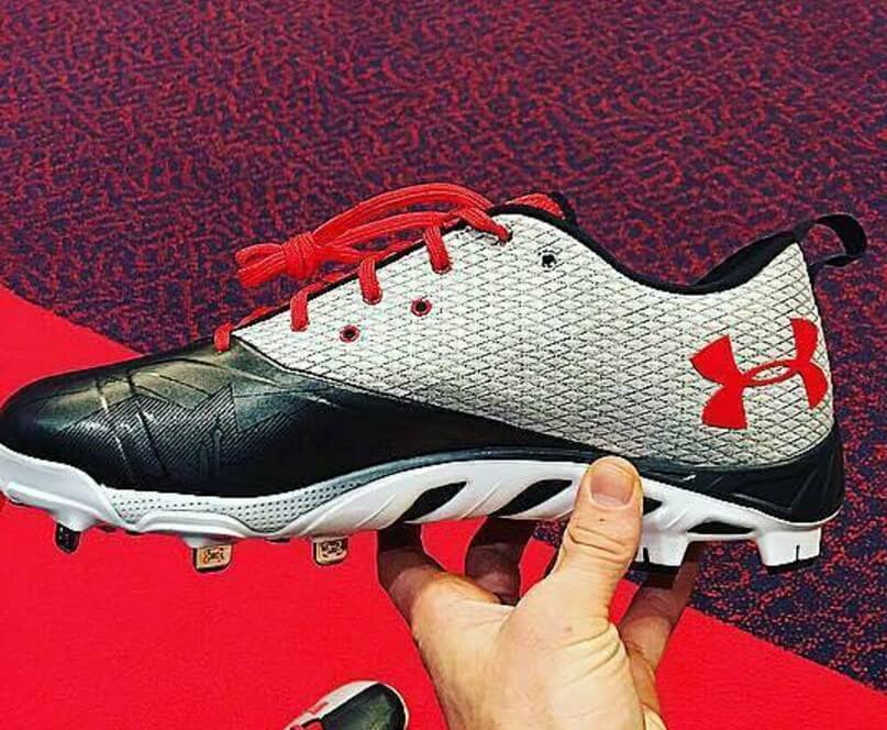 What Pros Wear Bryce Harper's Under Armour Harper One ... Bryce Harper Outfield