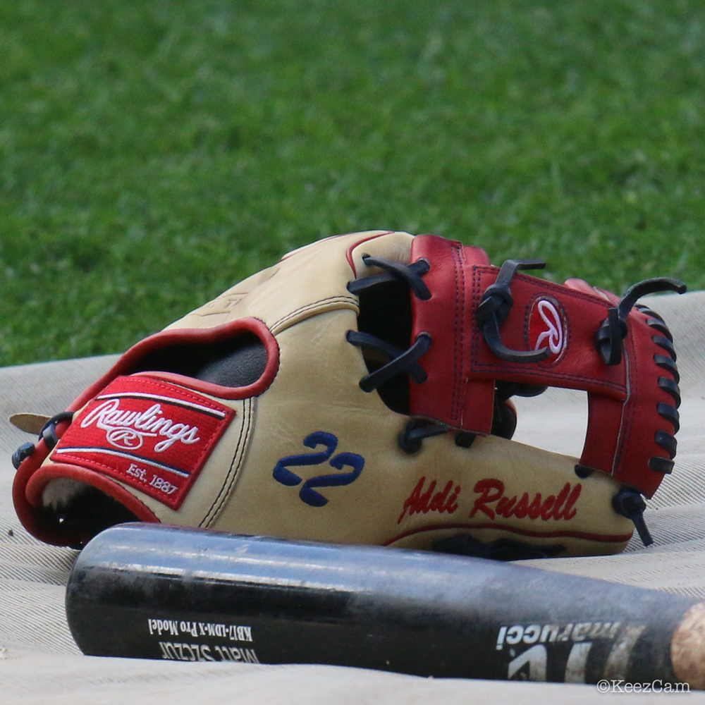 Addison Russell's Rawlings Pro Preferred PROS205-2BCWT Glove