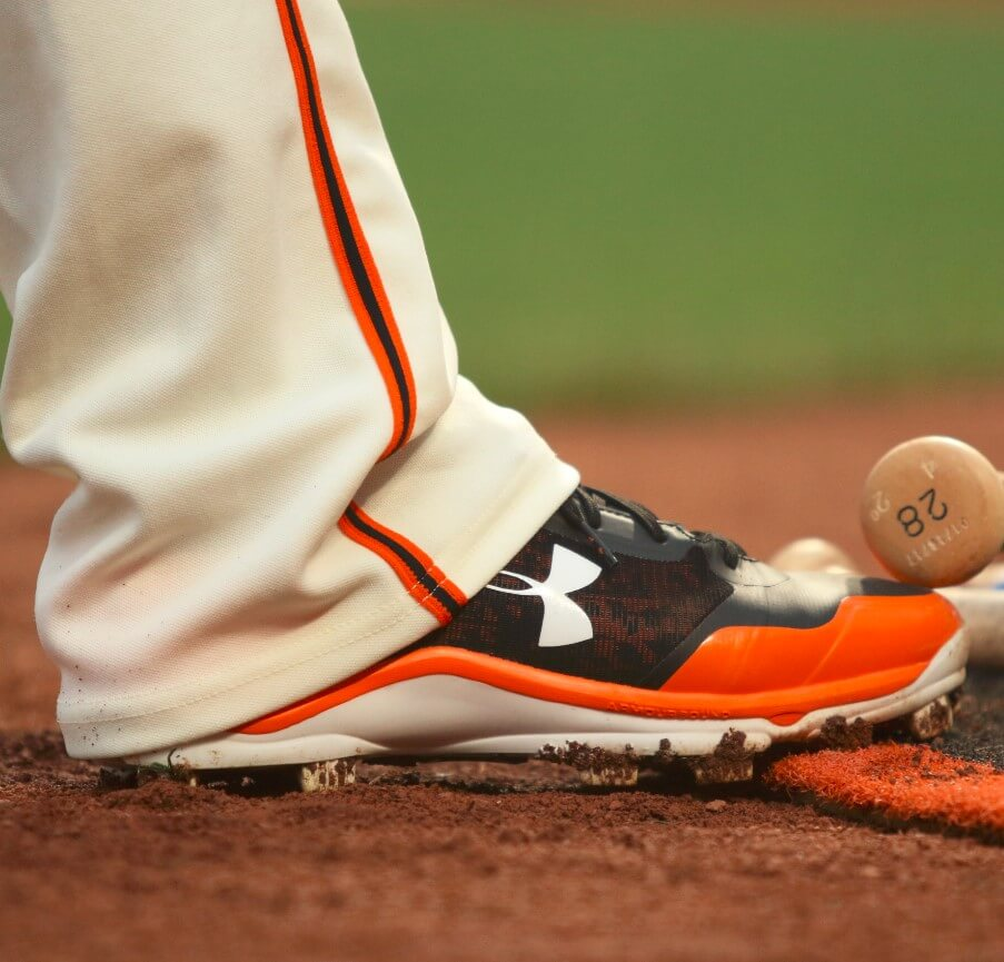 What Pros Wear Buster Posey S Under Armour Heater Cleats