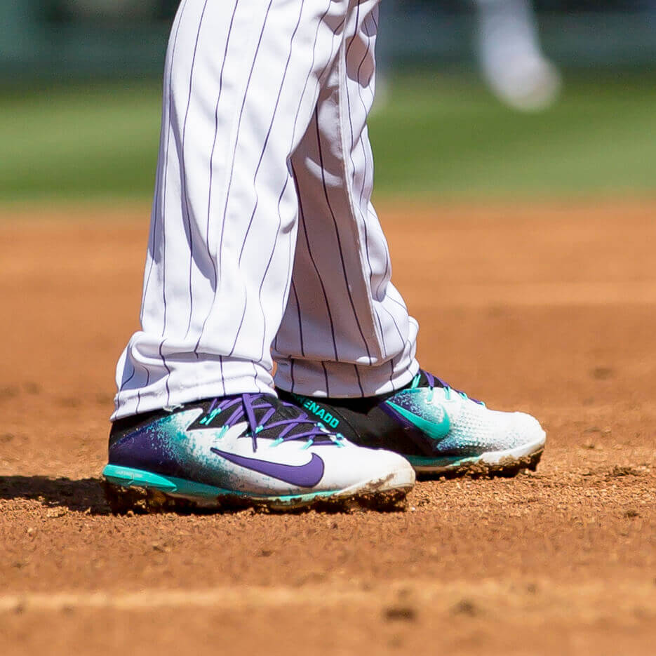 Nolan Arenado Home Cleats