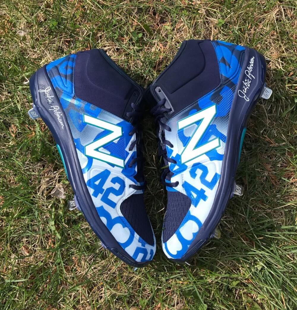 Robinson Cano Jackie Robinson Day 2017 Cleats