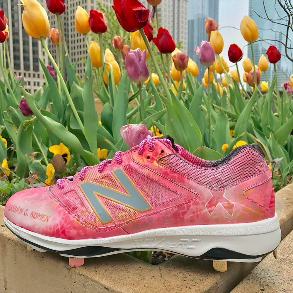 Curtis Granderson New Balance Mothers Day Cleats 2017