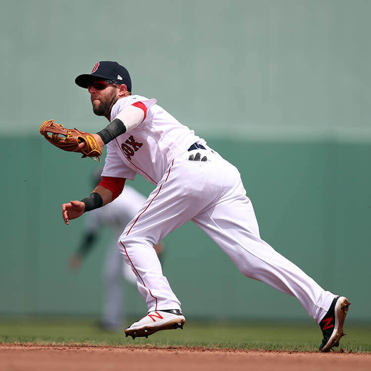 What Pros Wear Dustin Pedroia in New Balance 4040v4 Cleats ...