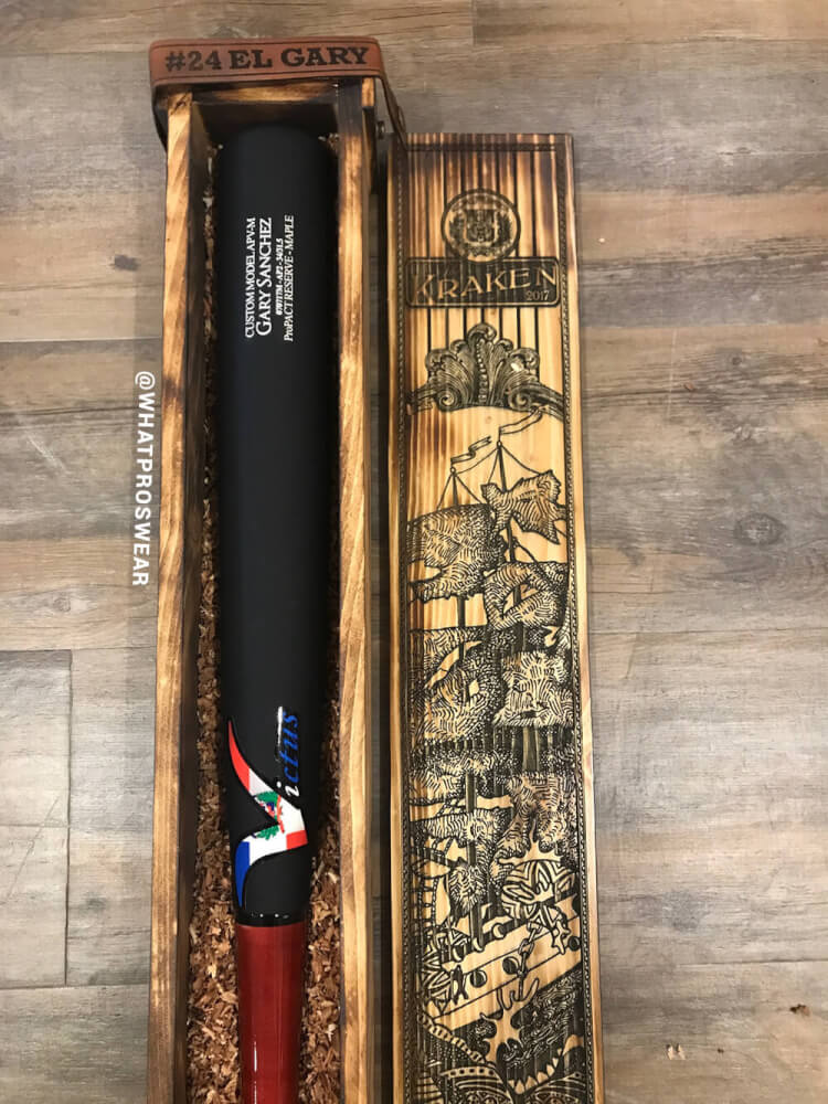 Gary Sanchez Derby Bat 4