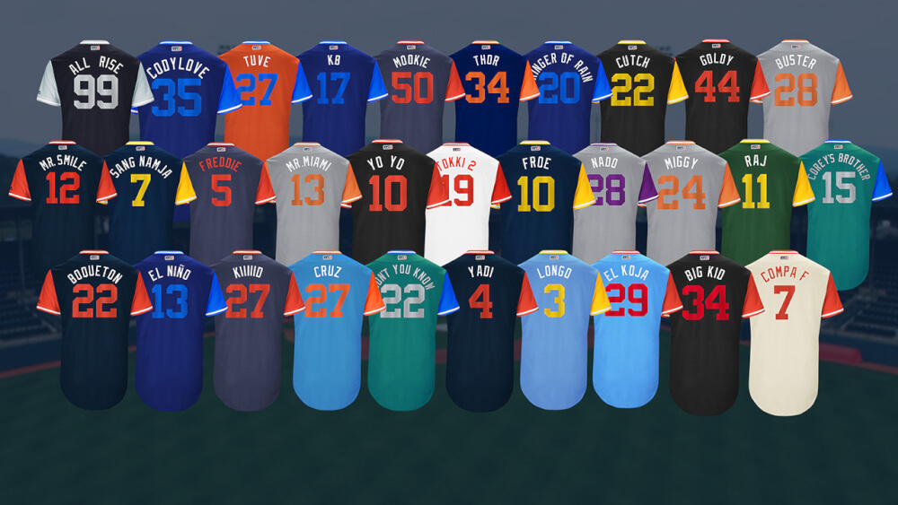"""What Pros Wear """"Players Weekend"""" Spotlights Individuality ..."""
