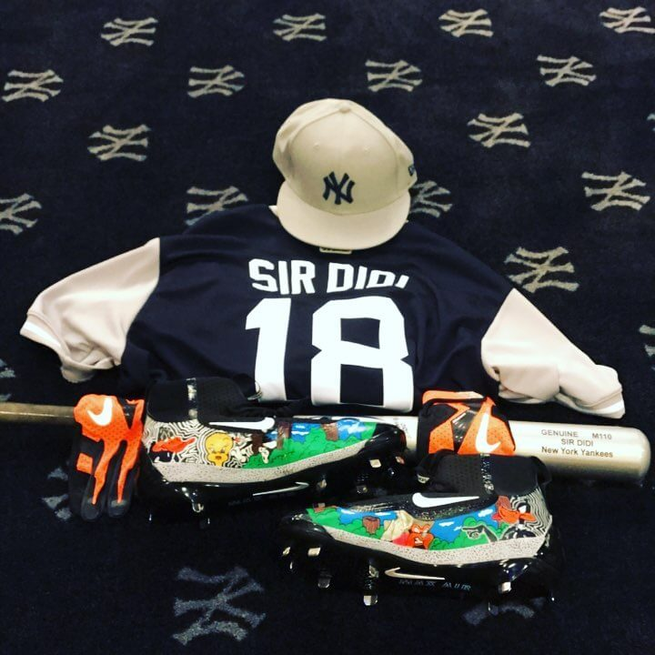 Didi Gregorius Players Weekend Cleats 2