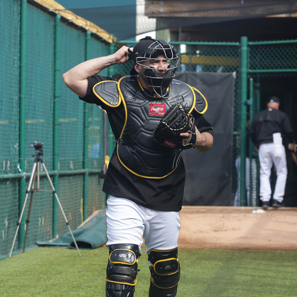 Franky Cervelli Catching Gear