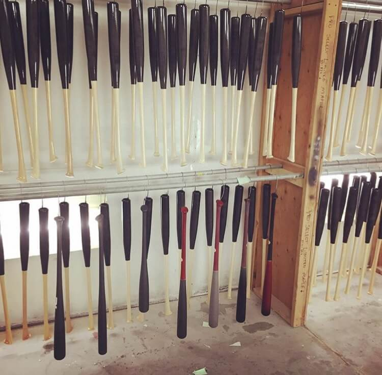 Tucci recently started manufacturing Axe Bats