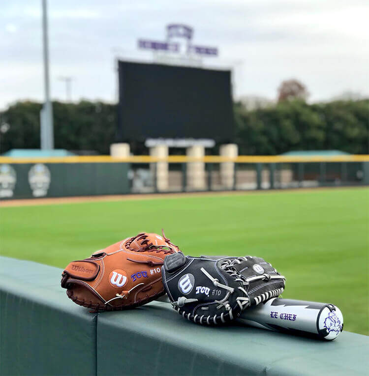 tcu gloves