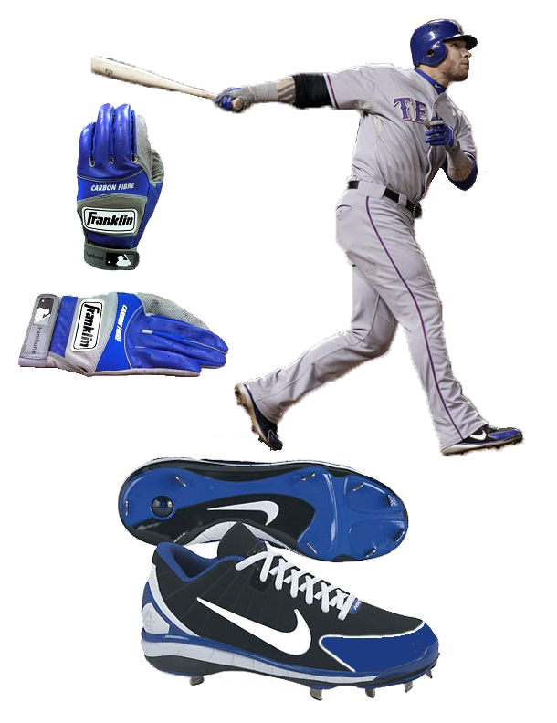 Hamilton Batting Gloves, franklin batting gloves, franklin carbon fibre, Hamilton Cleats, Hamilton Spikes, nike huarache, nike huarache 2k4