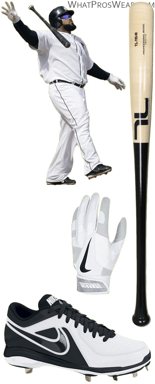 prince fielder bat model, prince fielder batting gloves, prince fielder cleats, tucci bat, nike air mvp pro cleats, nike diamond elite ii batting gloves