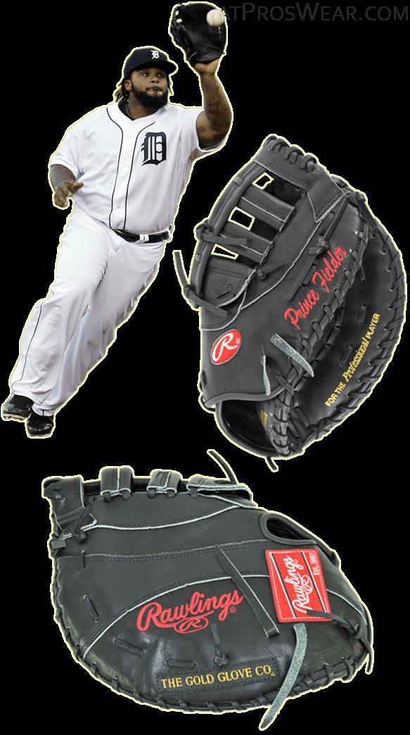 prince fielder glove model, prince fielder sunglasses, rawlings heart of the hide first base, prosc21jb