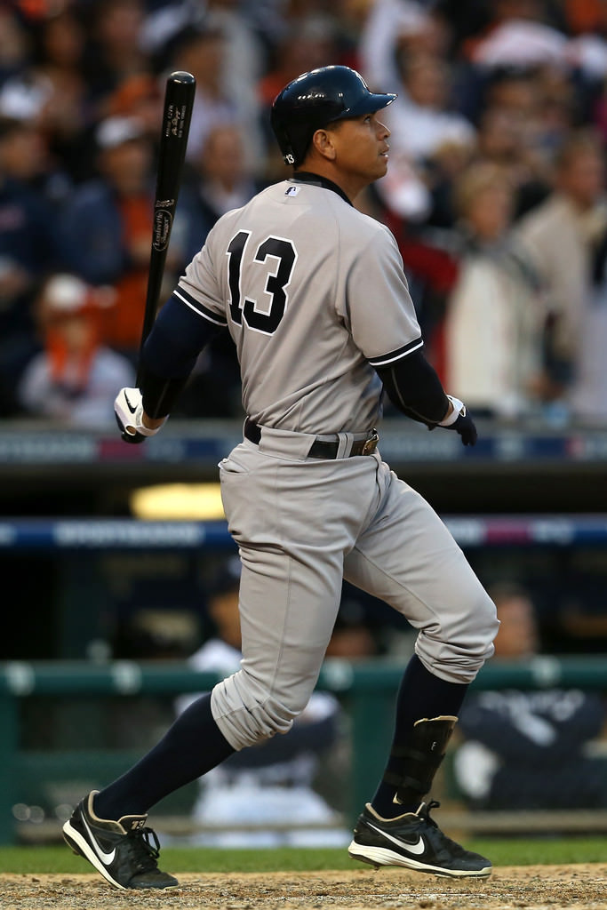 Alex Rodriguez in the MVP Elite 3/4 in the ALCS. (Source: