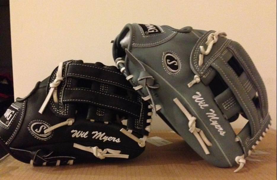 wil myers black grey glove shot