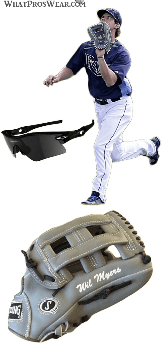 wil myers glove model, wil myers spalding, wil myers oakley sunglasses