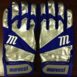 Jose Bautista's Marucci Elite Batting Gloves (Away)