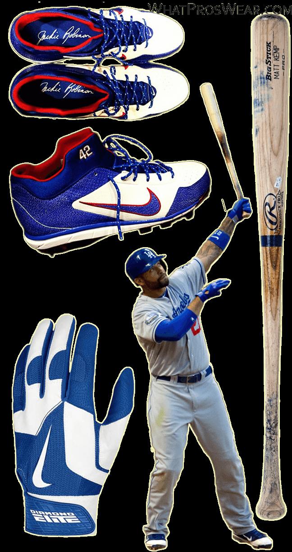 matt-kemp-bat-batting-gloves-cleats