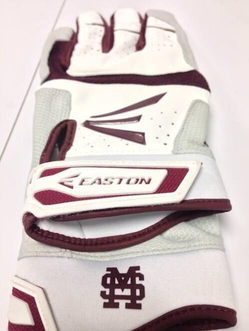 easton miss state gloves