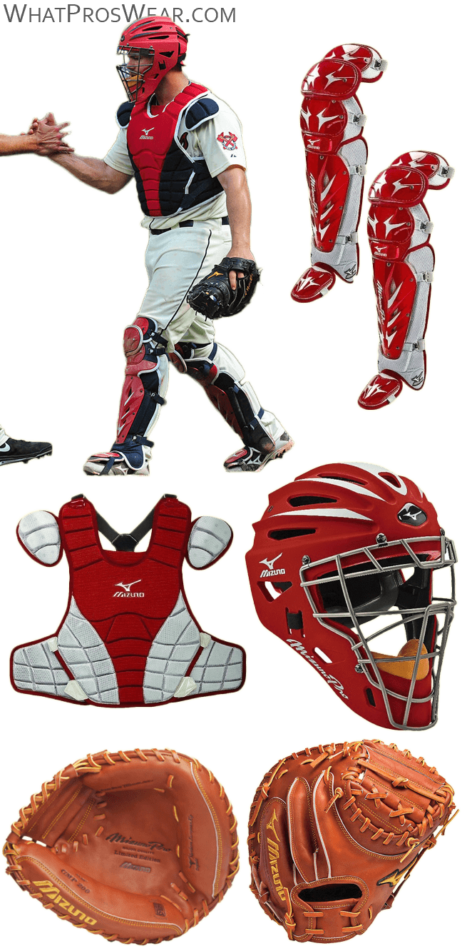 evan gattis glove, evan gattis catchers gear, mizuno gmp 200, mizuno g2 catchers gear, helmet