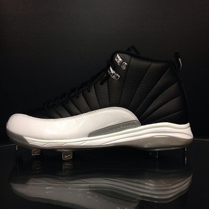 What Pros Wear Jordan 12 Metal Cleats Start Popping Up in Very ... 6155b05451