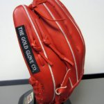 """""""The Gold Glove Co."""" Black Patch is an Element Used Exclusively on Heart of the Hide Gloves."""