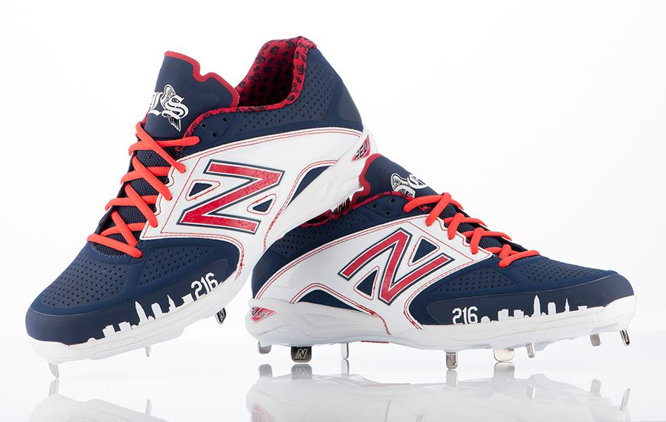 Nick Swisher\u0027s New Balance 4040v2 Cleats