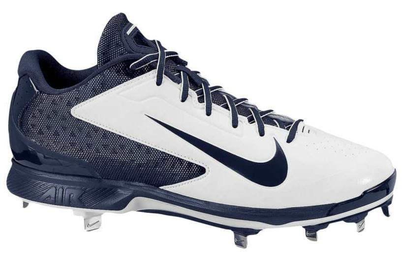 navy blue nike huarache baseball cleats