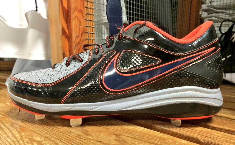 Prince Fielder's Custom Nike Air MVP Pro Cleats