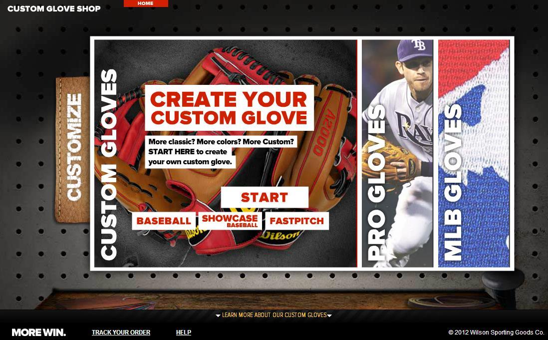 wilson custom gloves