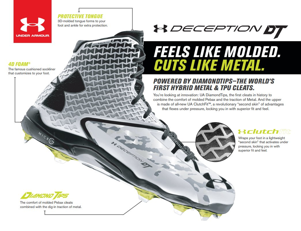 Under Armour Deception DT Baseball Cleats