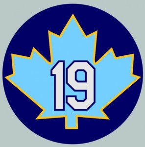 Maple Leaf for Canada, Rays colors and my jersey number...Perfection!