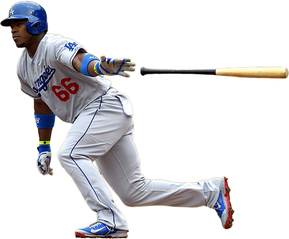 yasiel puig chandler bat, yasiel puig old hickory bat, yasiel puig cleats, puig wilson glove, oakley sunglasses, power balance wristbands, wrist bands, puig necklace
