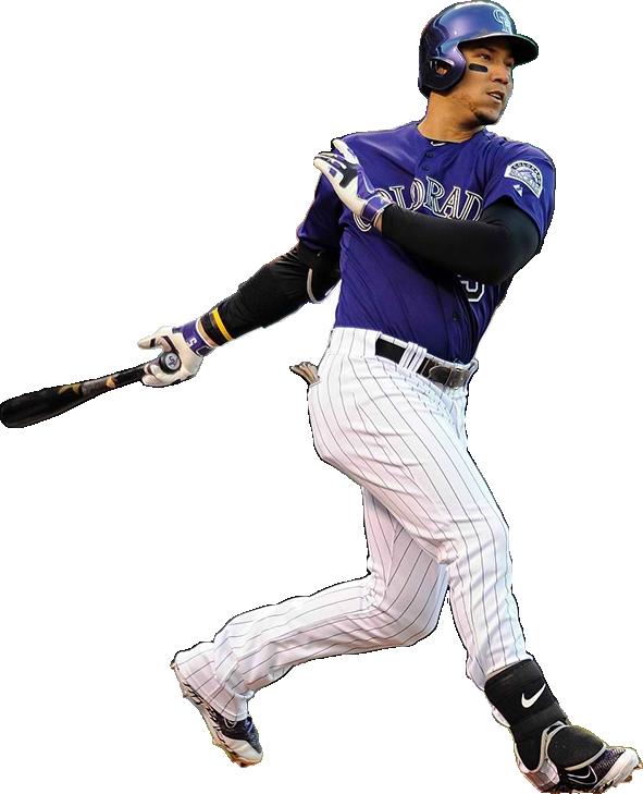 carlos gonzalez bat model, carlos gonzalez batting gloves, nike mvp elite pro batting gloves, nike elbow guard, nike huarache pro mid cleats