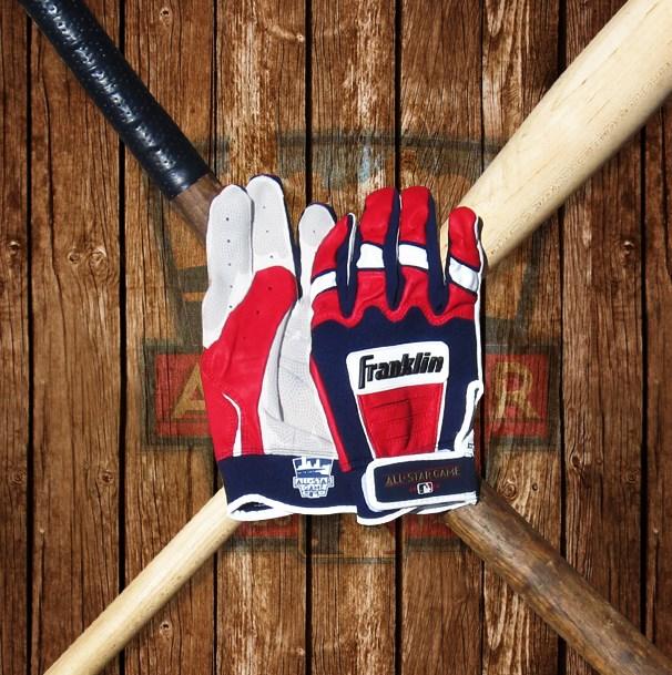 franklin all star game cfx pro batting gloves 2