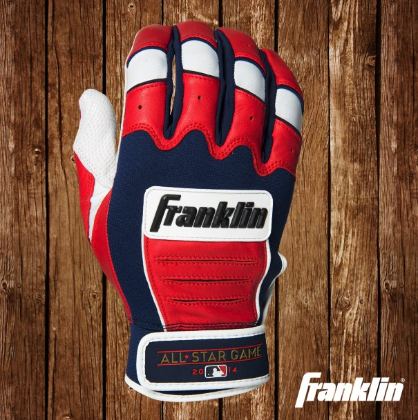 franklin all star game cfx pro batting gloves 3