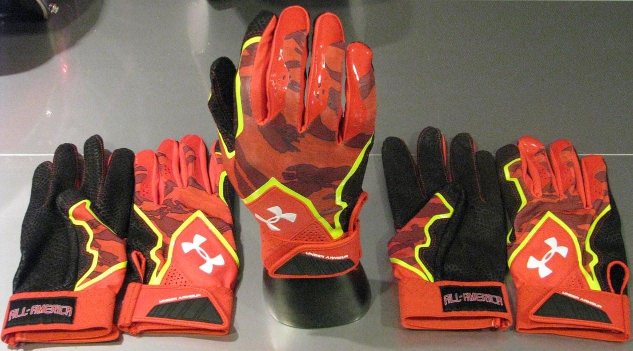 under armour superhero batting gloves