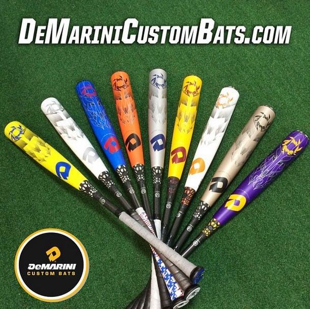 demarini custom bats
