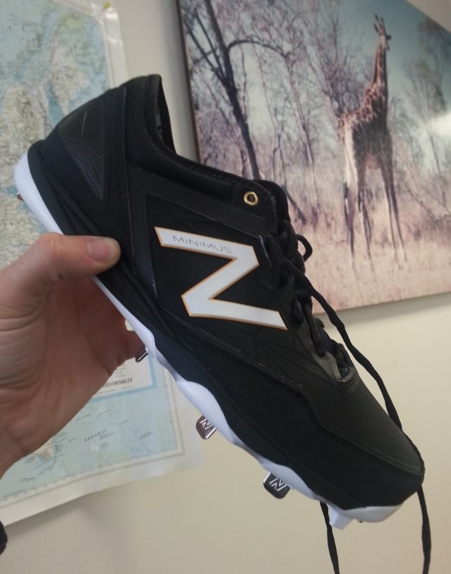 4b01866b8 What Pros Wear: New Balance Minimus Metal Cleat Review - What Pros Wear