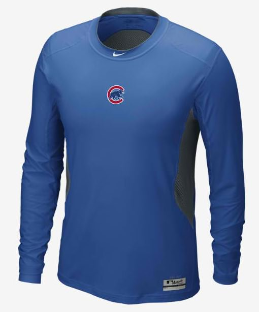 Nike Pro Combat Gloves: What Pros Wear Anthony Rizzo's Nike Pro Combat Long Sleeve