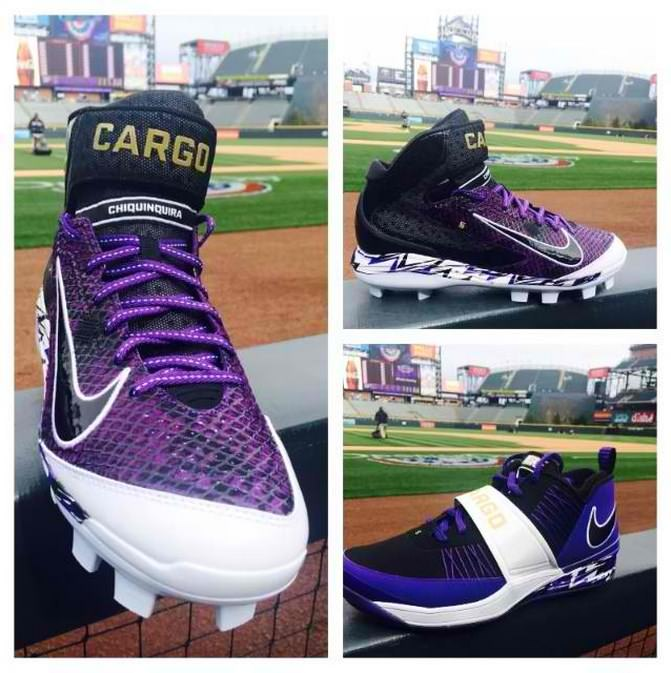 What Pros Wear Carlos Gonzalez' Nike Custom Air Huarache ...